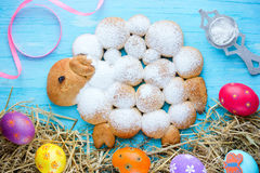 Free Easter Lamb Bread Bun Royalty Free Stock Image - 89319886