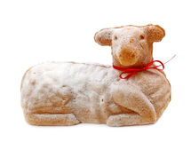 Easter lamb cake Royalty Free Stock Photography