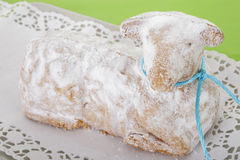 Easter lamb cake Royalty Free Stock Photos