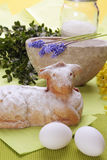 Easter lamb cake Royalty Free Stock Image