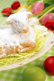 Easter Lamb Cake Stock Images