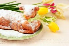 Easter lamb cake Royalty Free Stock Photos