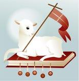 Easter lamb of God Stock Photos