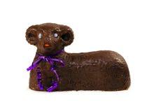 Easter lamb sweet cake Stock Image
