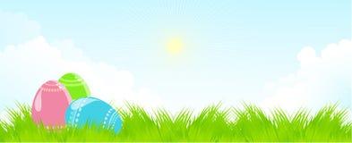 Easter landscape Stock Photos
