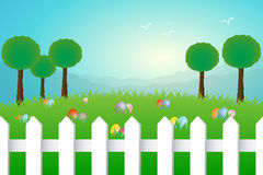 Easter landscape Royalty Free Stock Photography