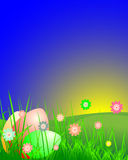 Easter Landscape Royalty Free Stock Photos