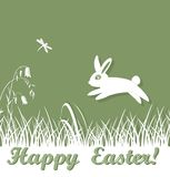 Easter lawn Stock Photography