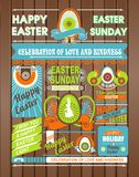 Easter leaflet Royalty Free Stock Photo