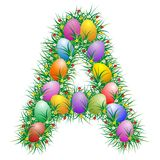 Easter letter - A Stock Image