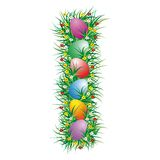 Easter Letter I Royalty Free Stock Photo