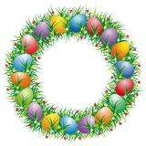 Easter Letter O Royalty Free Stock Photography