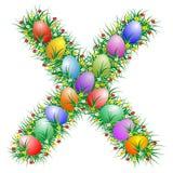 Easter letter X Stock Image