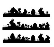 Easter lines Royalty Free Stock Image