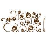 Easter logo design Royalty Free Stock Image