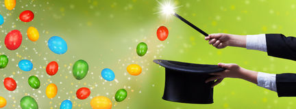 Easter magic - for copy space Royalty Free Stock Photography
