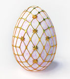 Easter - marble egg Royalty Free Stock Photos