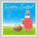 Easter marks mail-02 vector illustration