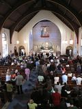Easter Mass Stock Images
