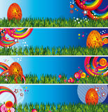 Easter meadow Stock Image