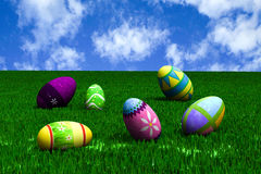 Easter in the meadow. Stock Images