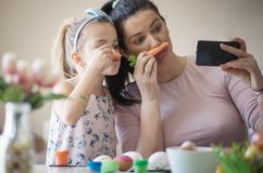 Easter memories royalty free stock images
