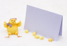 Easter message Stock Photos