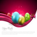 Easter modern background Stock Image