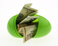Easter money Royalty Free Stock Images