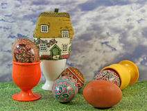 Easter morning Royalty Free Stock Images
