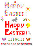 Easter mosaic Stock Images