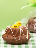 Easter Muffins Royalty Free Stock Photos