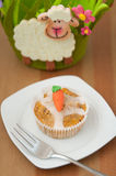 Easter Muffins Royalty Free Stock Images