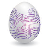 Easter music sketch Royalty Free Stock Photography