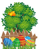 Easter natural scene Royalty Free Stock Images