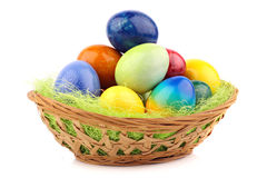 Easter nest 2 Royalty Free Stock Images