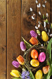 Easter nest Stock Photography