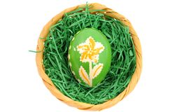 Easter nest Stock Photos