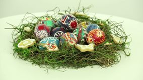 Easter nest stock footage