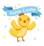 Easter nestling Royalty Free Stock Photo