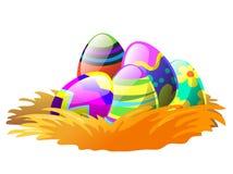Easter no ninho Fotografia de Stock