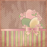 Easter old card Royalty Free Stock Image