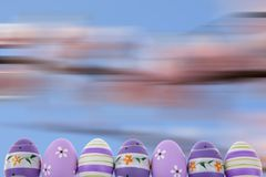 Easter is one of the two most important holidays in the Christian religion. The splendor of spring colors on Easter eggs means that great news connected with Stock Photos