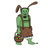 Easter Orc Royalty Free Stock Photo