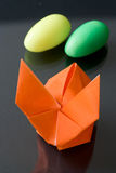 Easter Origami Bunny Royalty Free Stock Photos