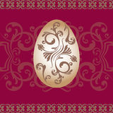 Easter ornament  egg. Image Easter of beautiful ornament  egg Stock Image