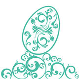 Easter ornament  egg Royalty Free Stock Image