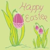 Easter ornament  egg Stock Photos