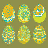 Easter ornament  egg Stock Image