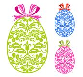 Easter ornament eggs Royalty Free Stock Photo